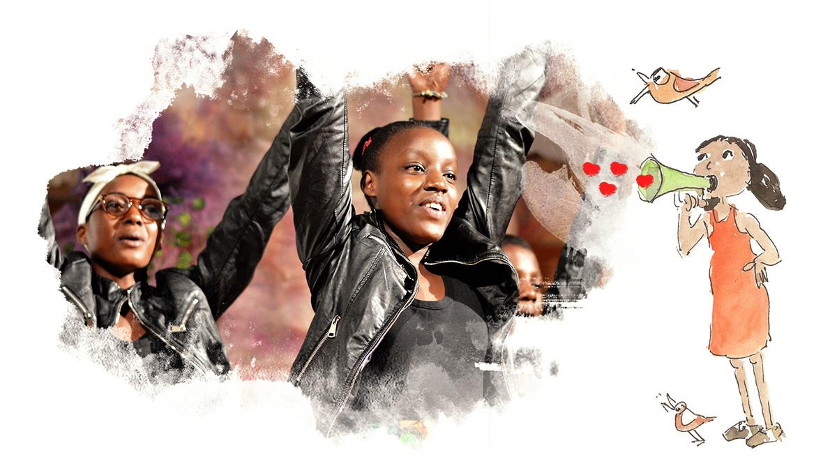 Coro Safari música para acercar mundos Nzuri Daima