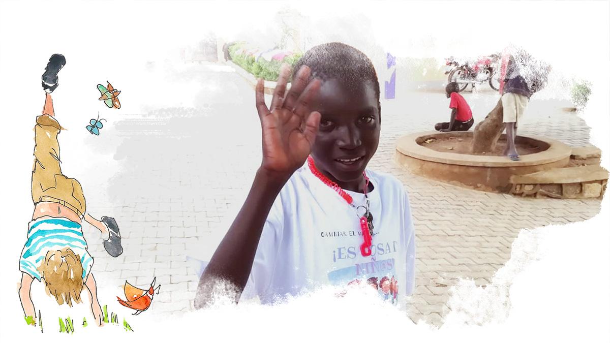 Víctor Mandela Proyecto refugiados Nzuri Daima